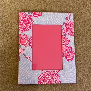 Lilly Pulitzer Pi Beta Phi picture frame 4x6